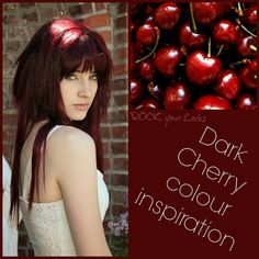Dark Cherry Hair on Pinterest | Dark Cherry Hair Color, Cherry Hair ...