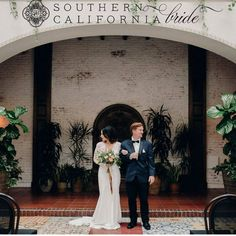 We loved being part of this modern classic shoot and we are even more thrilled to be featured in @southerncaliforniabride! Get the full details on this exciting day on our blog - link in bio! || Photography: @michellefloresphotography | @rrobertsevents | Venue: @ebelloflb | Hair  Make Up: @corincruzmakeup | Dress: @monamiebridalsalon | Suit: @FriarTux | Floral Design: @hanayafloralworks | Invite & Calligraphy: @heididavidsondesign | Tableware Rentals: @cherishedrentals | Linen Rentals…