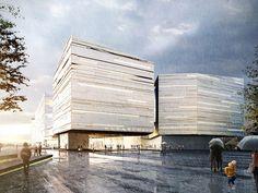 Mira las 1.715 propuestas del concurso para el nuevo Museo Guggenheim de Helsinki,GH-7128234610. Imagen Cortesía de Malcolm Reading Consultants