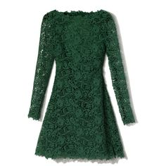 Emerald Backless Lace Dress (105,315 MXN) ❤ liked on Polyvore featuring dresses, vestidos, green, short dresses, green mini dress, emerald green dress, green cocktail dress, short backless dresses and lace cocktail dress