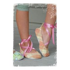 Favorite Things Ballet Slippers Pattern