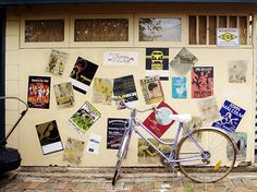 bike and flyers