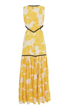 Royal Cutout Midi Dress by ALEXIS for Preorder on Moda Operandi