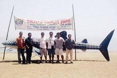 "Team PRRM in Donsol with friends from the World Wildlife Foundation. Donsol is unofficialy the ""Whale Shark Capital of the World"" (April Is money stopping you from visiting philippines? Click my pin to find out how you could solve this issue. World Wildlife Foundation, Visit Philippines, Shark, How To Find Out, Tourism, Money, Learning, Friends, Turismo"