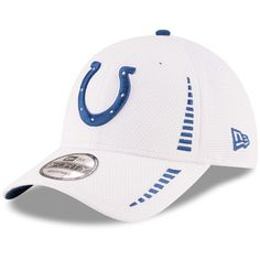 buy online 28773 e1ca1 Indianapolis Colts New Era Speed 9FORTY Adjustable Hat - White