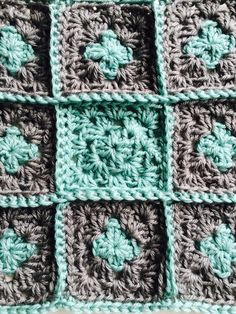 Granny Square Video Tutorial By AnnooCrochet Designs