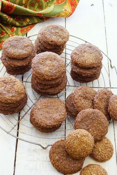 spiced whole grain ginger cookies patty s food more cookies pattysfood ...
