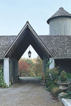 How cool is that ~ from AJF Design ~ Renovated Dairy Farm