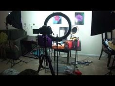 YouTube Filming Set Up For Beauty Videos! Backdrops