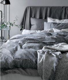 textille lover loves grey bedlinnen