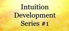 Intuition Developmen