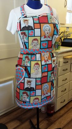 I Love Lucy Apron... I soooo would love this! !!!
