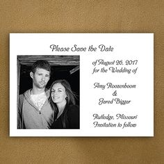 Picture Our Date - Save the Date Magnet weddingneeds.carlsoncraft.com