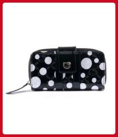 Hello Kitty Limited Edition Patent Embossed Polka Dot Wallet-SANWA0520 - Wallets (*Amazon Partner-Link)