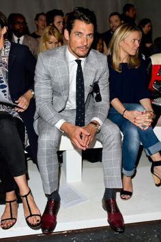 London Collections: Men S/S 2015 (Day II) ~ David James Gandy