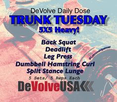 Check out www.facebook.com/DevolveUSA for more great workouts!