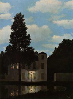 L'empire des lumières III, René Magritte (1954)