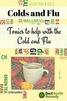 When you get the common cold or come down with the flu, the last thing you want to do is eat or drink anything. However, hydration is essential, and you need to try to get those vitamins in any way you can which is why tonics are so popular. #coldandflu, #healyourself, #naturalhealing, #nutrition, #remedy, #vitamins, apple cider, cold and flu, cold and flu remedies, cold or flu, health, honey and lemon tea, nutrients, orange and honey tonic, tonic, tonics,
