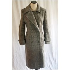 "Graceful in Grey Winter Coat   Direct from our Paris Buying trip comes this  über chic 100% Llama Mohair Coat. Size 10 US Petite, 37"" Bust, 30"" Waist, 40"" Hip. Telle Mere, Telle Fille Vintage Collection Jackets & Coats"