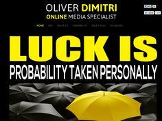 Olli Dimitri - Online Marketing Specialist Personal Website for Branding