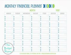 2018 Real Life on a Budget Planner – Jessi Fearon – Finance tips, saving money, budgeting planner Wedding Planner Office, Wedding Budget Planner, Wedding Planning Binder, Wedding Binder, Planning Calendar, Calendar Ideas, Blank Calendar, Meal Planning, Budget Sheets