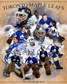 """LEAFS GOALIE SHOW"" 