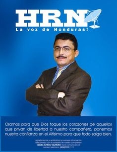 Indignante. El Ministerio de Seguridad de Honduras confirmó ayer que el cuerpo del periodista Alfredo Villatoro, fue encontrado al sur de Tegucigalpa, señala el diario La Prensa.