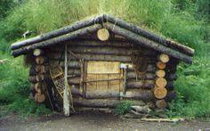 alaska cabins | trapper s cabin bear proof