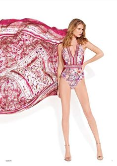 Gottex ~ Shiraz Halter Neck Swimsuit in Multi Colours