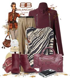 """Balenciaga For Fall"" by keti-lady ❤ liked on Polyvore"