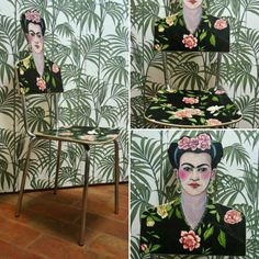 My work.  Frida chair