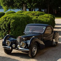 1937 Bugatti Type 57SC Atalante Coupè, chassis no. 57523. Completed in April, 1937 and delivered to Alphonse Gandon of Paris. Originally…