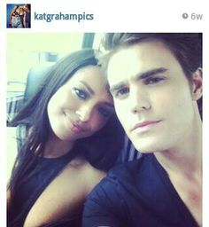 Find images and videos about friends, the vampire diaries and tvd on We Heart It - the app to get lost in what you love. Serie Vampire Diaries, Vampire Diaries Quotes, Vampire Diaries The Originals, Paul Wesley, Stefan Salvatore, Nina Dobrev, Teen Wolf, Katerina Graham, Perfect Day