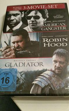 3 DVD I Russell Crowe - 3-DVD -Set -> Gladiator American Ganstee Robin Hood OVP in Filme & DVDs, DVDs & Blu-rays | eBay!