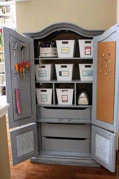 Best craft room storage and organization furniture ideas 00014 — rodgerjennings.org