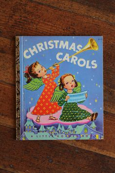 Vintage Children's Book - Christmas Carols