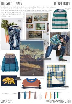 Emily Kiddy: The Great Lakes - Autumn/Winter 2016/17 - Older Boys Trend