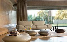 Living Room Inspiration: 120 Modern Sofas by Roche Bobois Canapé Design, Sofa Design, Design Concepts, Design Ideas, Living Room Sofa, Living Room Interior, Living Rooms, Beautiful Sofas, Comfy Sofa