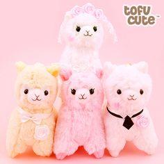 Buy Amuse Alpacasso Alpaca Bridal Wedding Keychain at Tofu Cute