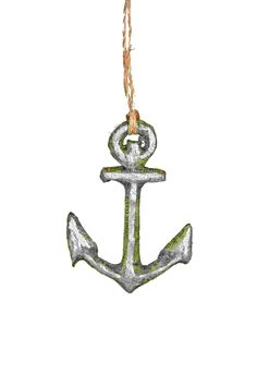Deck the Shore: Cody Foster & Co. Anchor Ornament | CoastalLiving.com