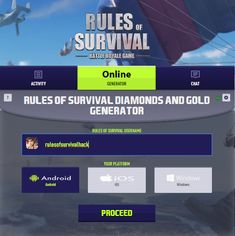rules of survival mod apk rules of survival cheat memory hacker ros ros cheat memoryhackers ros exiled ros cheat cheat ros Cheat Engine, Royale Game, Play Hacks, Android Hacks, Test Card, Diamonds And Gold, Hack Online, Mobile Legends, Survival Tips