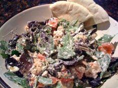 Healthy Greek Chicken Salad, YUM
