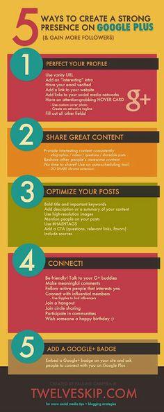 Daniele Gennaioli - Google+ - 5 consigli utili per migliorare la propria presenza su…