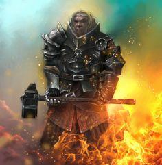 Adalhard - Priest of Sigmar by cocco91.deviantart.com on @deviantART
