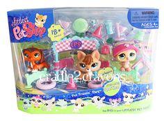 Littlest Pet Shop ♥ LPS ♥ TRAININ' PARK CHOCOLATE DACHSHUND SET NEW 673 674 675 picclick.com