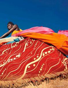 "Senegal's Supermodel Kinee Diouf Rocks Vogue Netherlands Jul 2013 - African Designers & Models - Part 2- Funky Fashions - Funk Gumbo Radio: http://www.live365.com/stations/sirhobson and ""Like"" us at: https://www.facebook.com/FUNKGUMBORADIO"