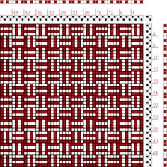 Hand Weaving Draft: Figure 104, A Manual of Weave Construction, Ivo Kastanek, 2S, 2T - Handweaving.net Hand Weaving and Draft Archive