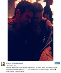 Instagram pic Brothers! 24/7/14