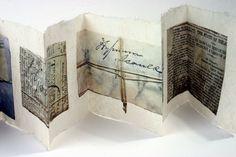 petitpoulailler: leslieavonmiller: Detail paper wrappers, Caithness Horizons by Joanne B Kaar