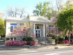 1912 Carnegie Library building in Oroville California